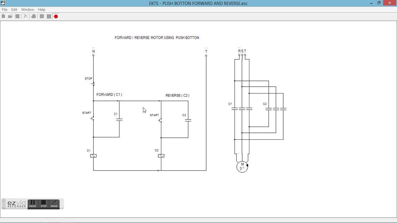 Wiring Diagram To Reverse Single Phase Motor Single phase