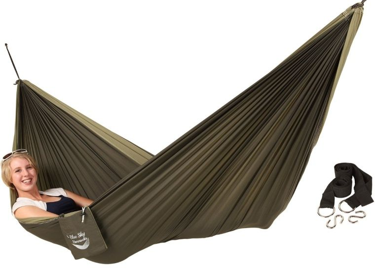 Couples Double Ultralight Hammock With Free Tree Straps Double Hammock Hammock Tree Straps