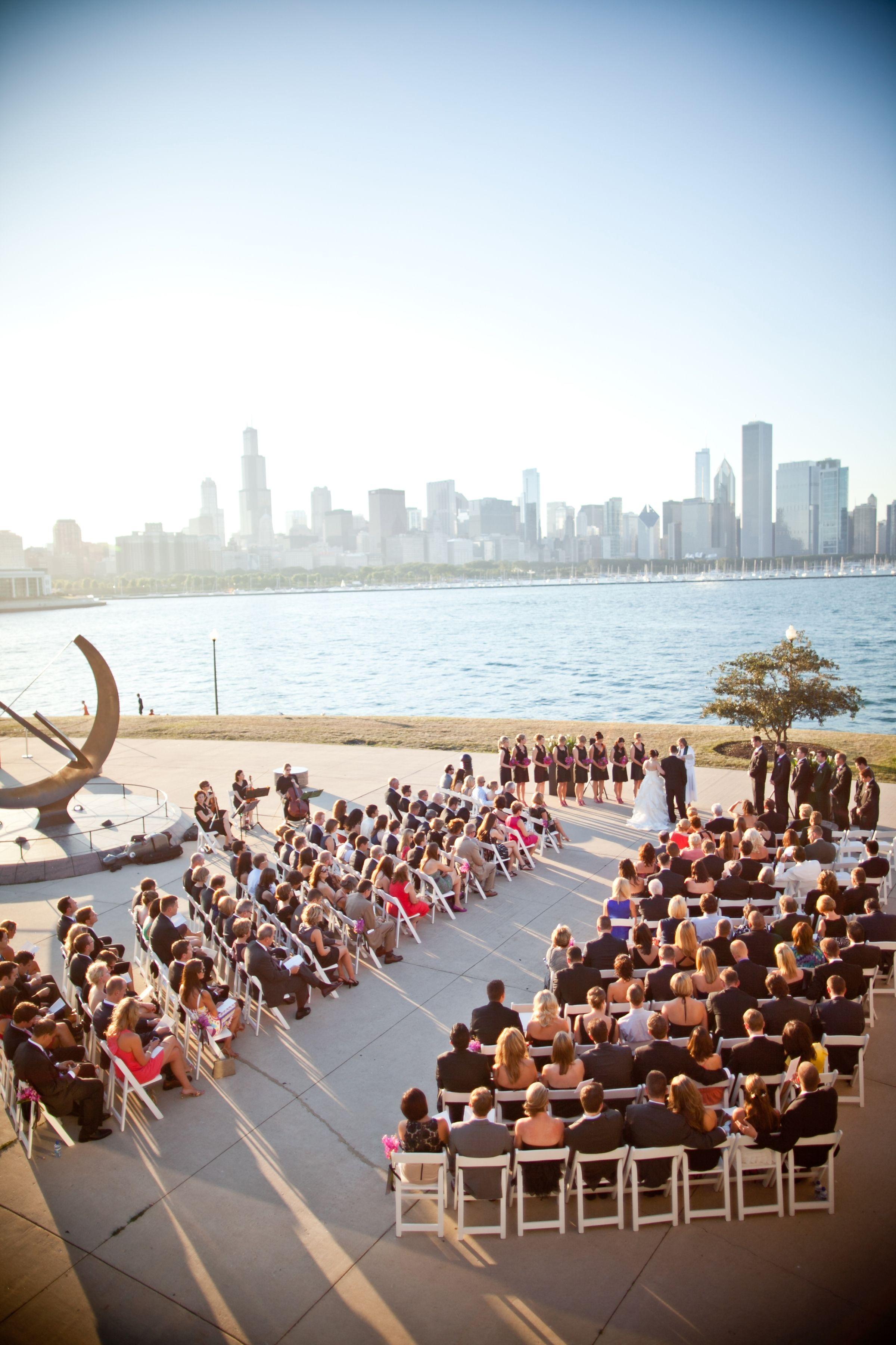Adler summer wedding ceremony absolute