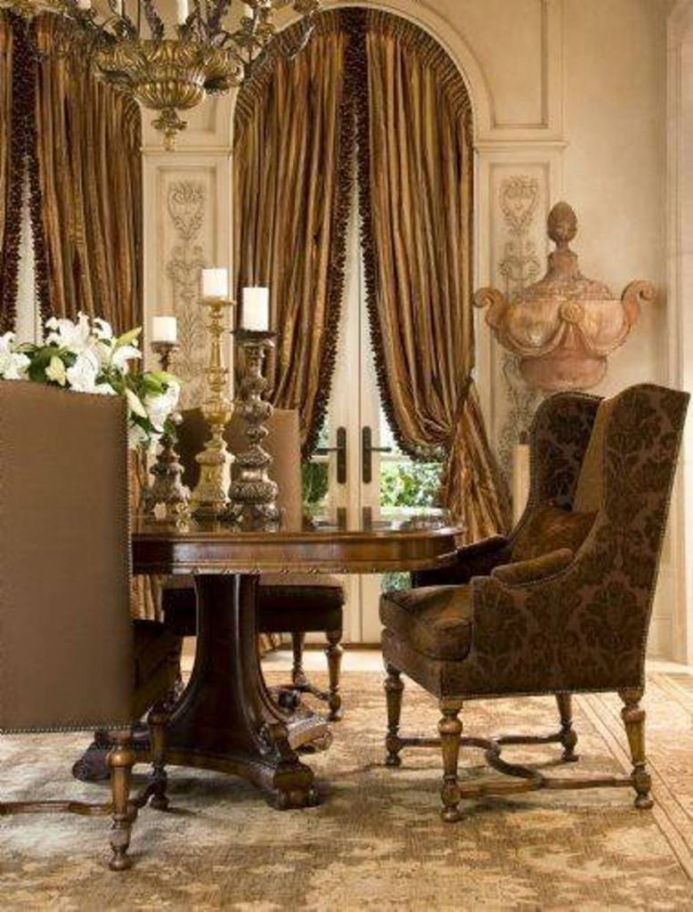 Tuscan Style Dining Room Furniture Home Style For Tuscan .