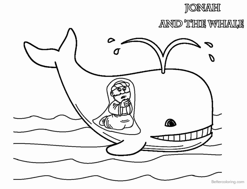 28 Jonah And The Whale Coloring Page Wickedbabesblog Com In 2020 With Images Whale Coloring Pages Jonah And The Whale Cute Coloring Pages