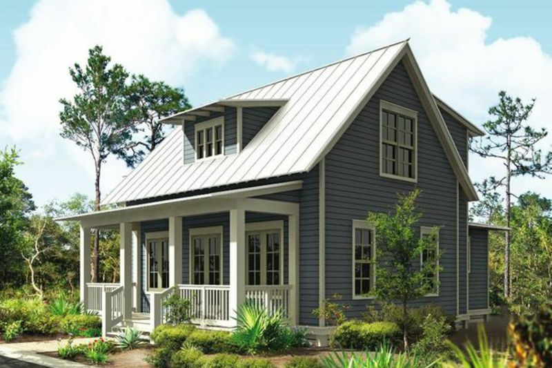 Cottage Style House Plan 3 Beds 2 5 Baths 1687 Sq Ft Plan 443 11