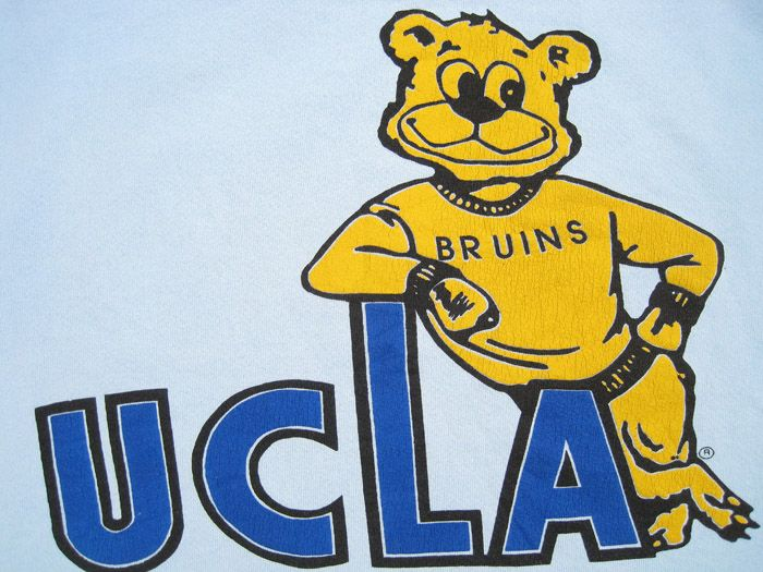 vintage ucla bruin mascots pinterest tops logos and