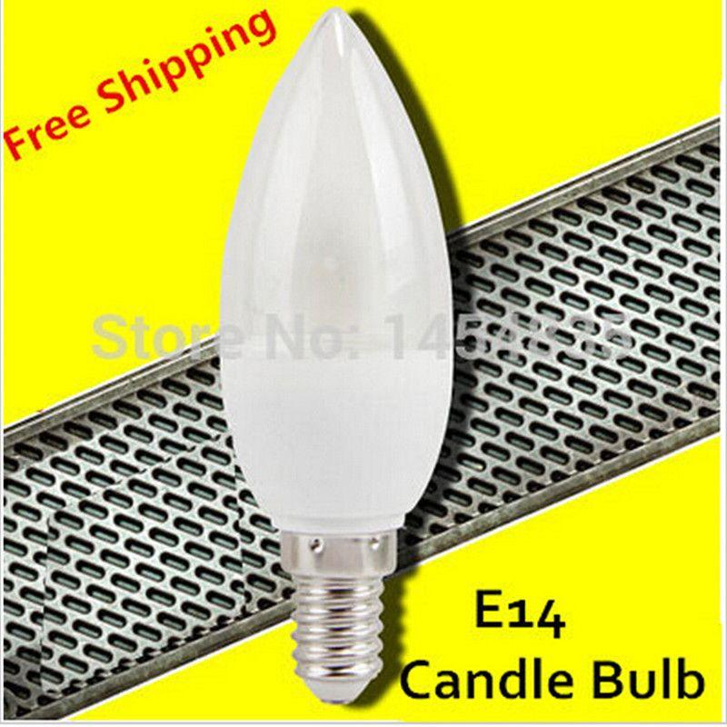 E14 Led Lampada Della Candela 3 W 7 W Smd 2835 Caldo/freddo bianco 220 V Ha Condotto La Lampadina Interni E27 B22 Chandlier Luminoso Eccellente Risparmio Energetico luce