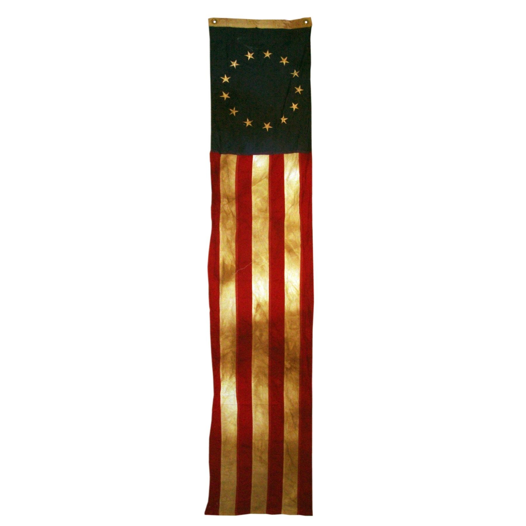 13-Star 20in x 8ft Sewn Cotton Flag Pull Down Heritage Series by Valley Forge