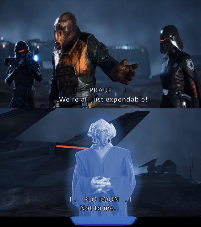 I Miss Plo Koon Fallenorder In 2021 Star Wars Empire Funny Star Wars Memes Star Wars Dad