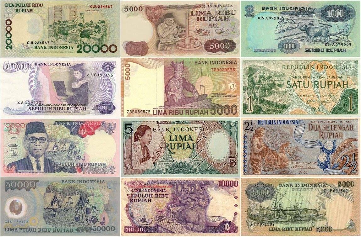 Gambar Pahlawan Di Uang Indonesia