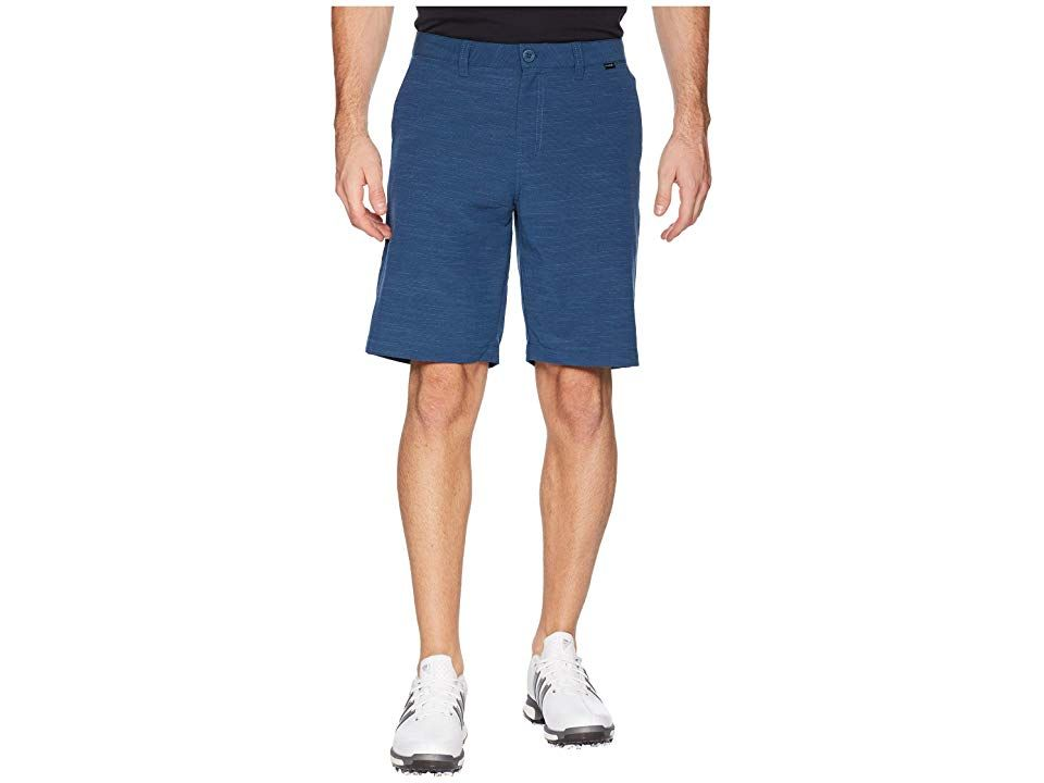 TravisMathew Undertow Shorts Blue Wing Teal Mens Shorts Dont get caught in the undertow when you dive into the scene with the TravisMathew Undertow Shorts Prestige 77 Cas...