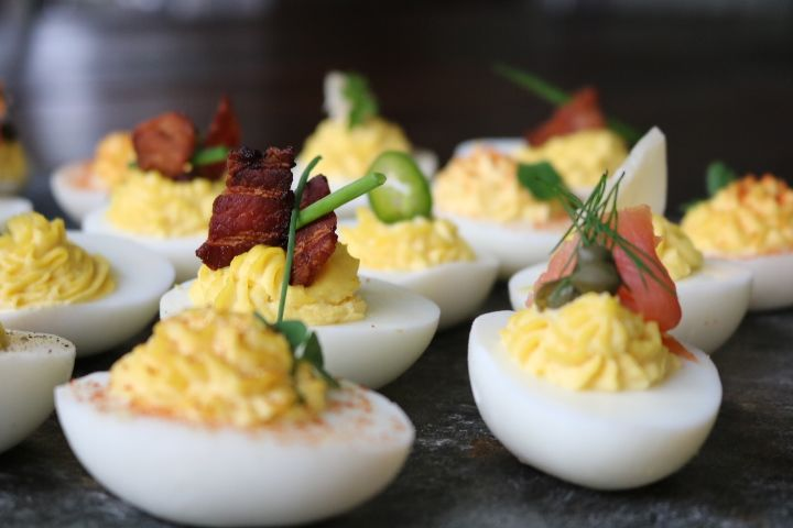 Tired of the typical summer picnic fare? Try these twists on the classic Deviled Egg… just don't tell your motherthat you're no longer using her recipe. 😉 Check out our instagram video here. Deviled Eggs 6 Ways BaseFilling Recipe 24...