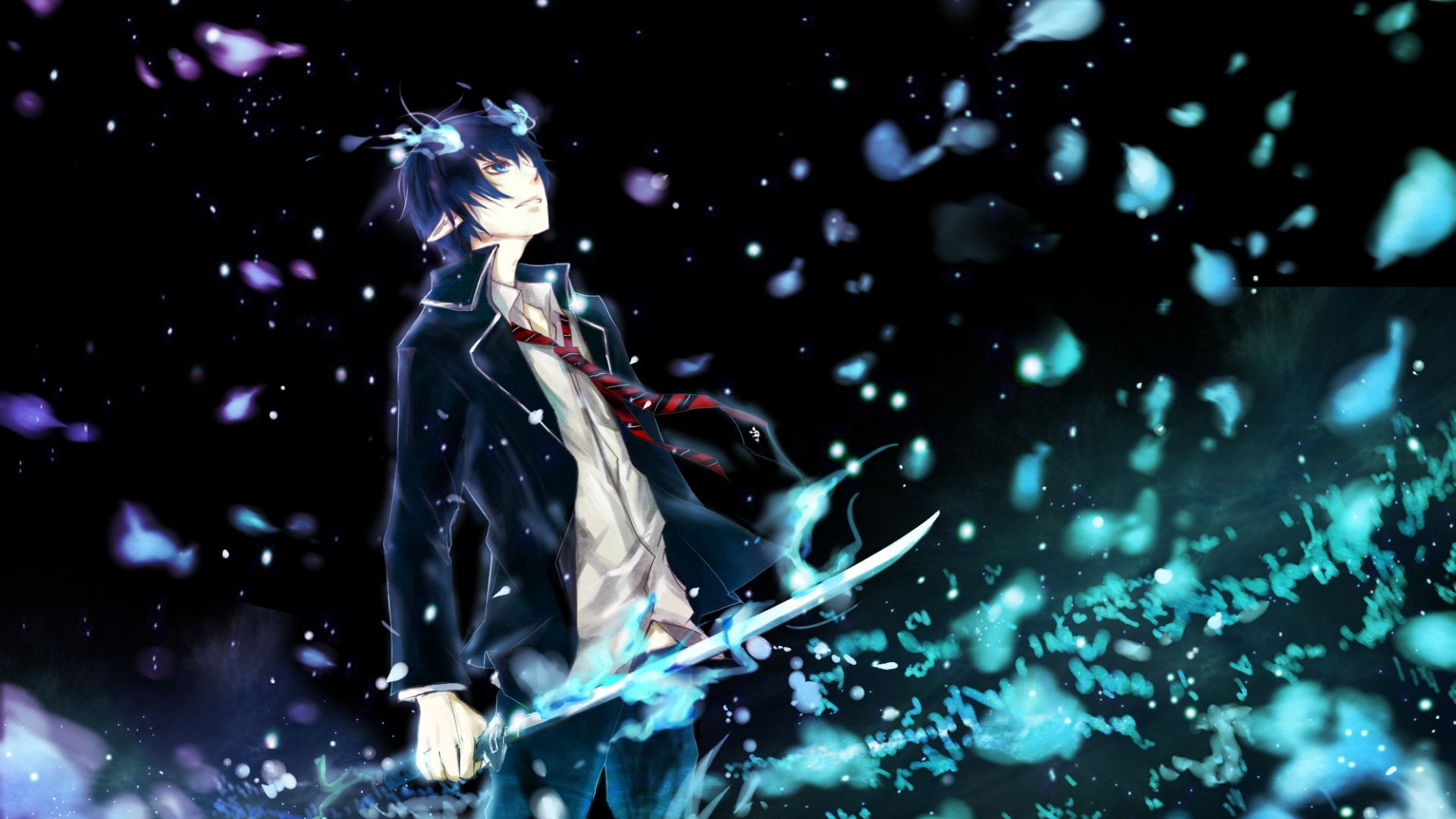 1920x1080 Wallpaper Ao No Exorcist Okumura Rin Man Art Wap