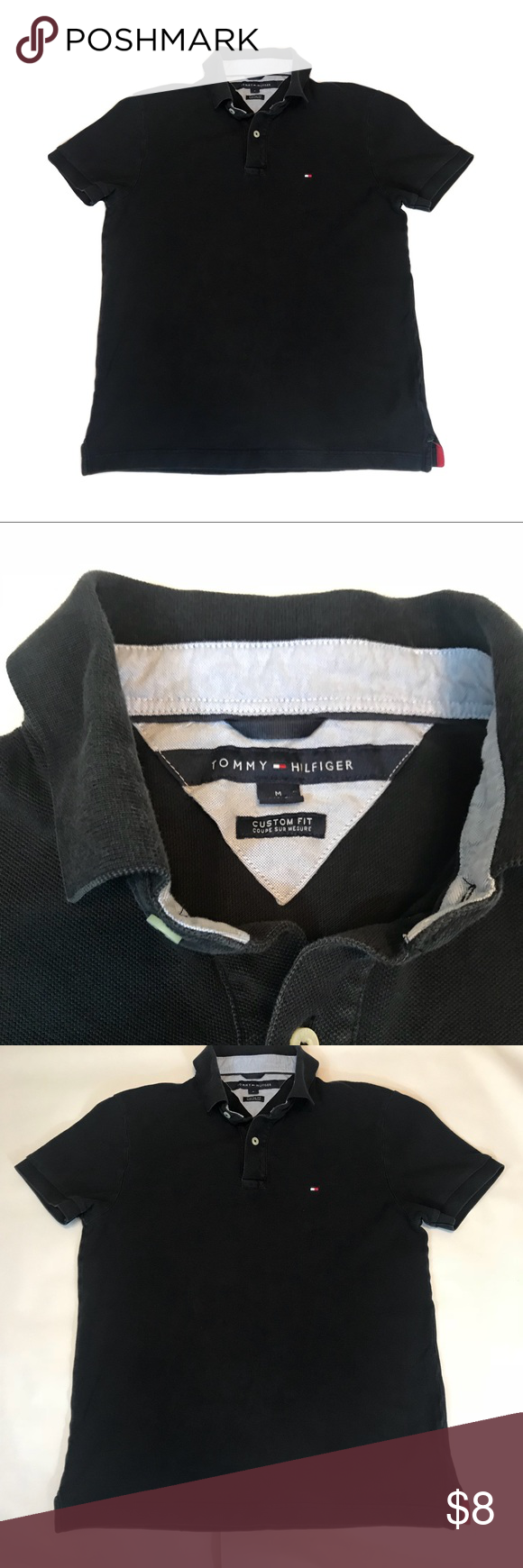 Tommy Hilfiger Blue Polo My Posh Picks Tommy Hilfiger Shirts