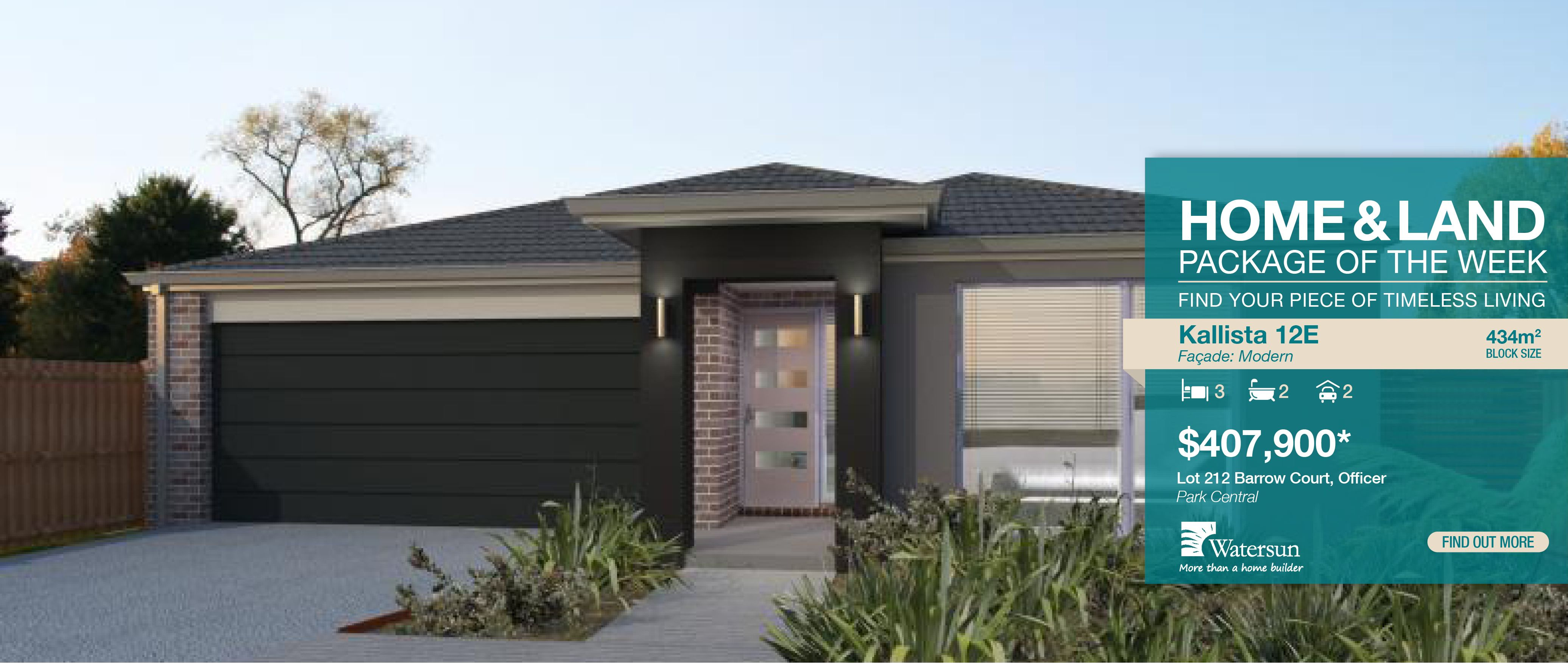 Home And Land Packages Very Close To Public Transport As Well Cycle Pedestrian Access 300 Lots Are Available In Officer Park Central Community At