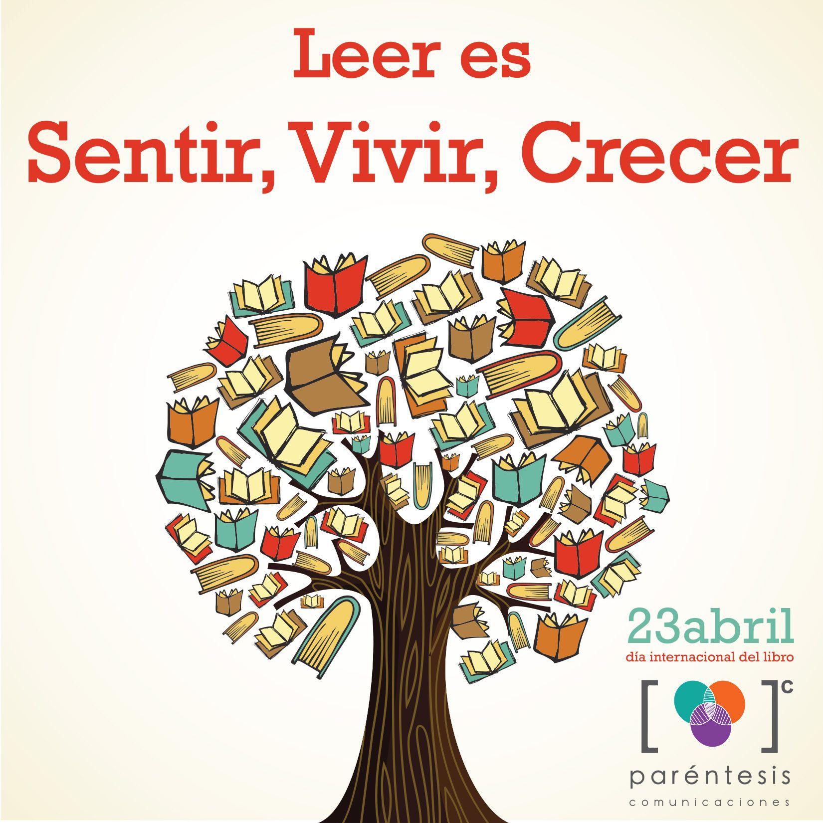 La lectura nos hace libres!!! feliz día internacional del