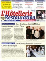 L'Hôtellerie Restauration : Le journal N° 3391 - 25 avril 2014