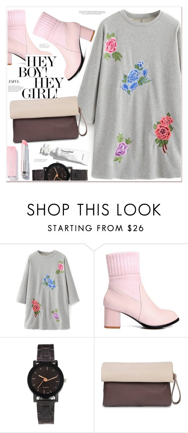 """""""Hey there"""" by mycherryblossom ❤ liked on Polyvore featuring Victoria Beckham"""