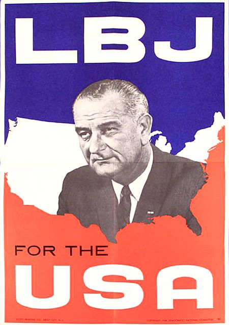 Image result for lbj 1964 presidential campaign