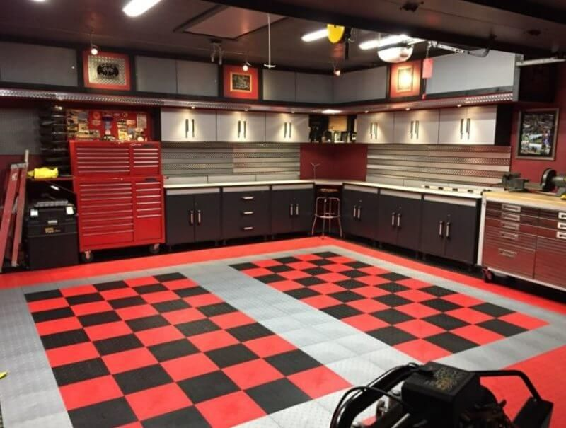 7 Great Garage Flooring Ideas From The