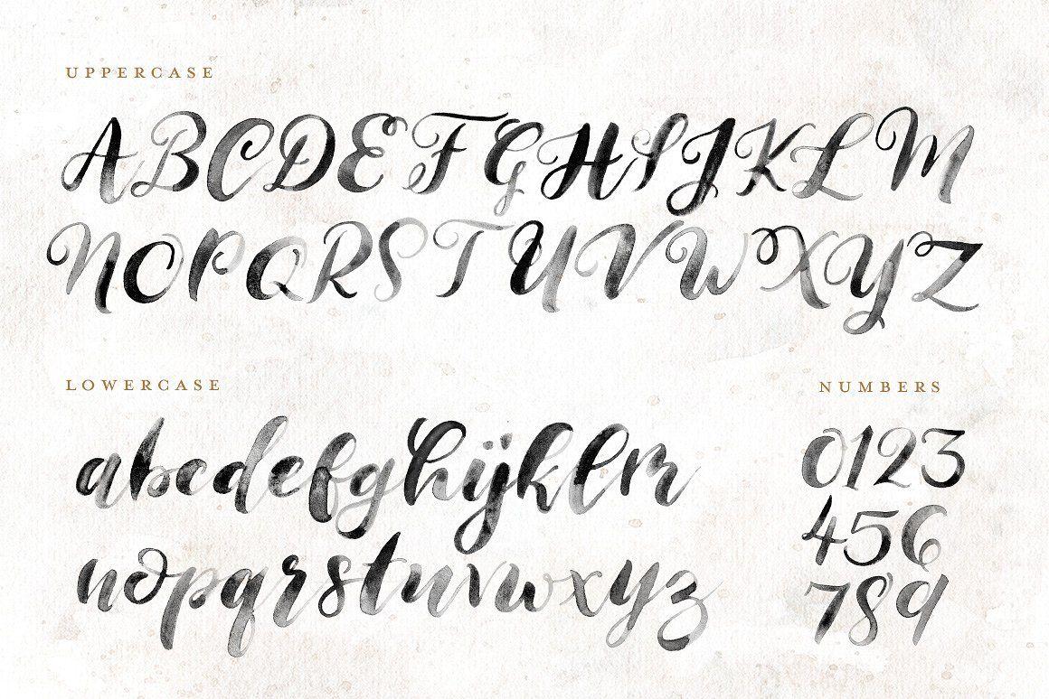 Handmaid SVG + Solid Font Lettering fonts, Lettering