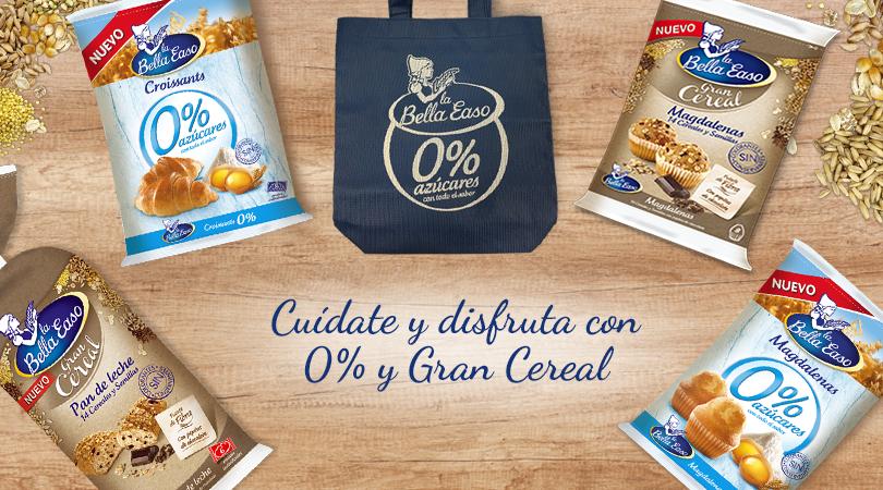 Cuídate y disfruta con 0% y Gran Cereal