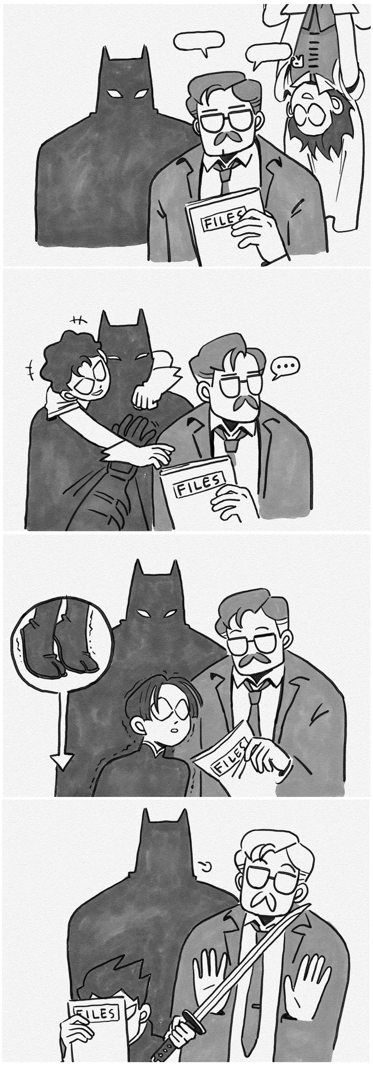 Commissioner Gordon and the Robins