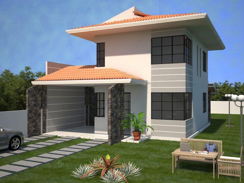 Imagenes de modelos de casas de dos pisos buscar con Modelos de casas de 2 pisos