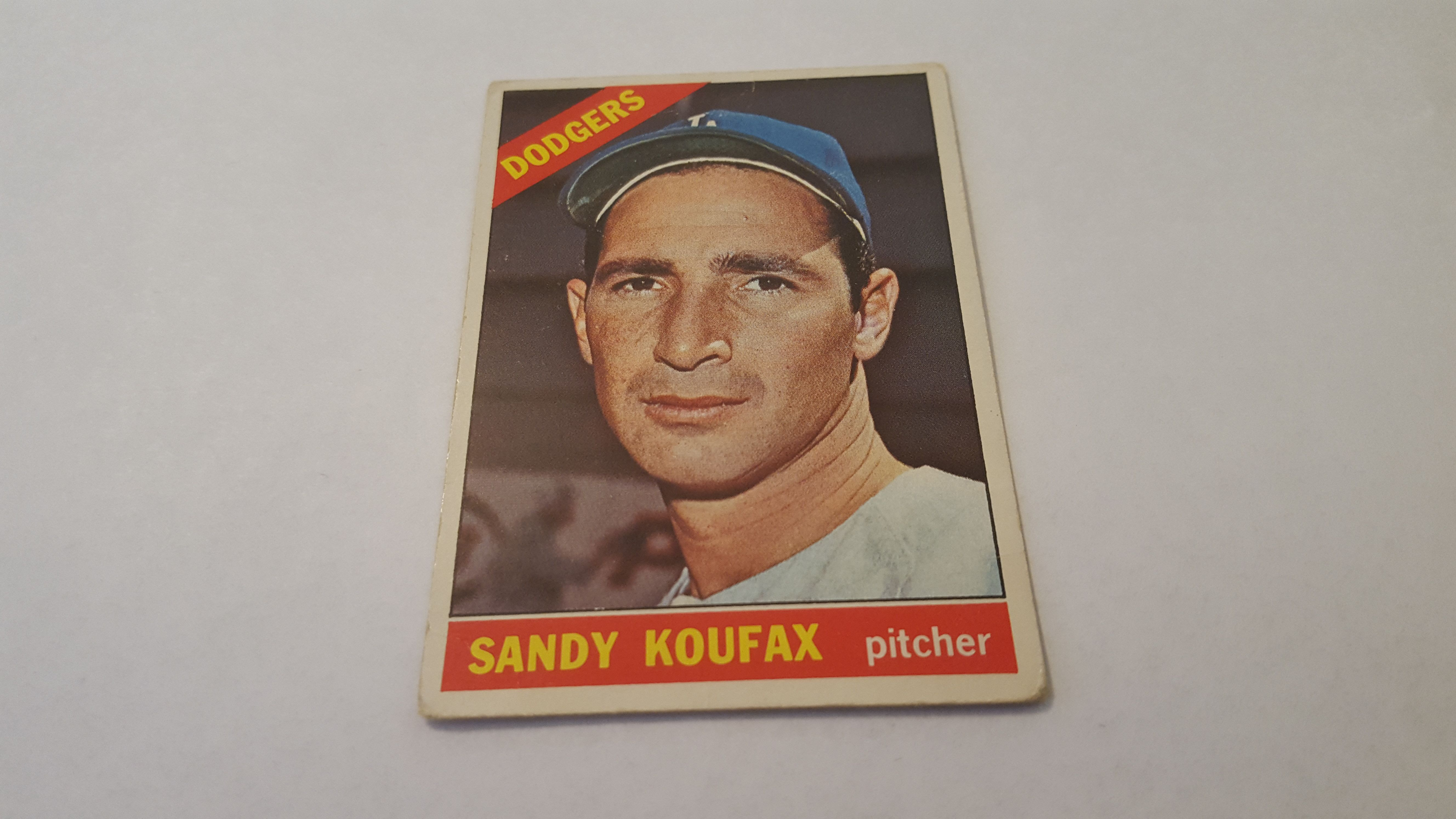 Card Number 100 From The 1966 Topps Baseball Card Set