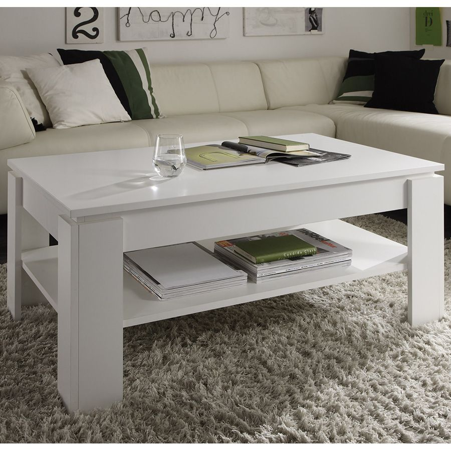 Table Basse Blanche Design Table Basse Design Blanc Laqué Aranea Table Basse Design Table