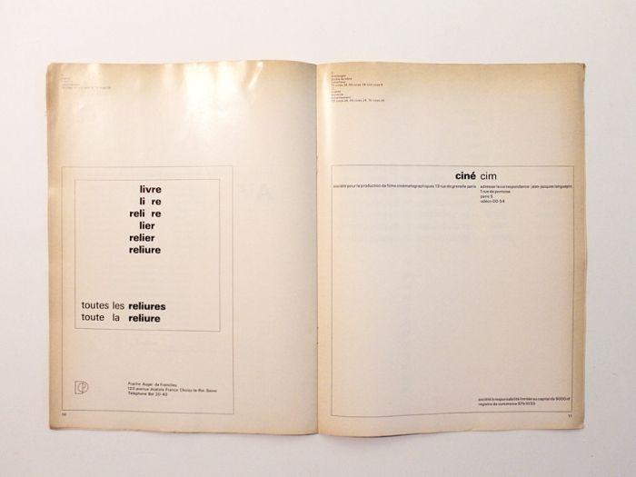 The developing Univers Univers-Typographie, c.1963. Bruno Pfäffli (Atelier Adrian Frutiger)