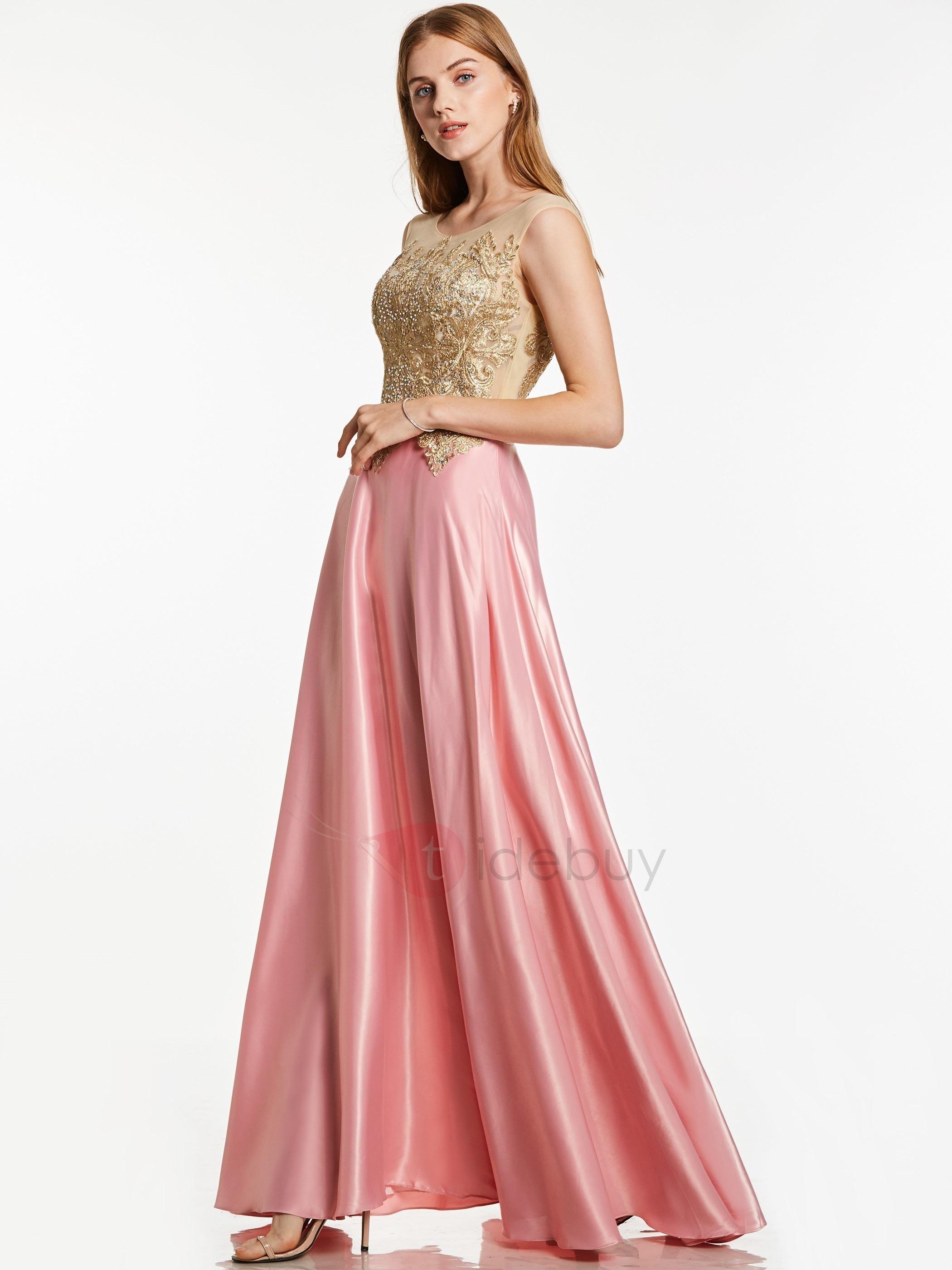 Lujo Vestidos De Dama Tidebuy Imagen - Ideas de Vestido para La ...