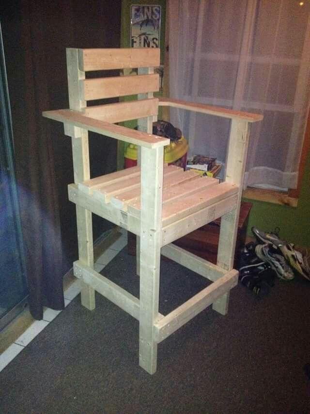 80d7865042af Lifeguard Chair Bar Stool or Deck Chair