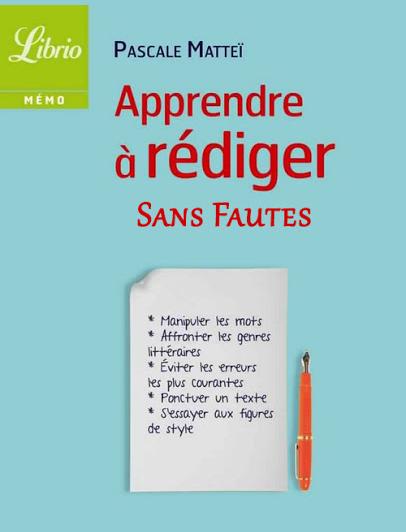 Ecrire En Francais Sans Faute D'orthographe : ecrire, francais, faute, d'orthographe, Livres
