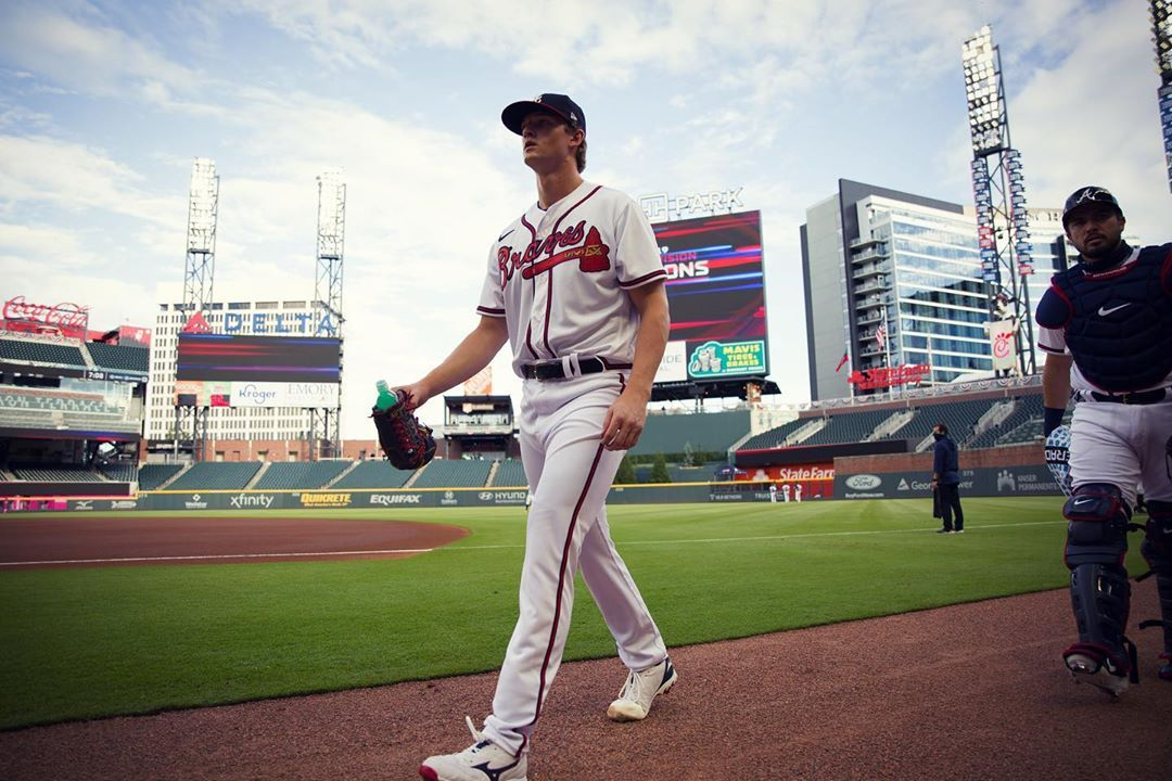 Mike Soroka Shared A Photo On Instagram We Re Back Atl Fortheeh See 114 Photos And Videos On Their Profile In 2020 Braves Photo Atlanta Braves