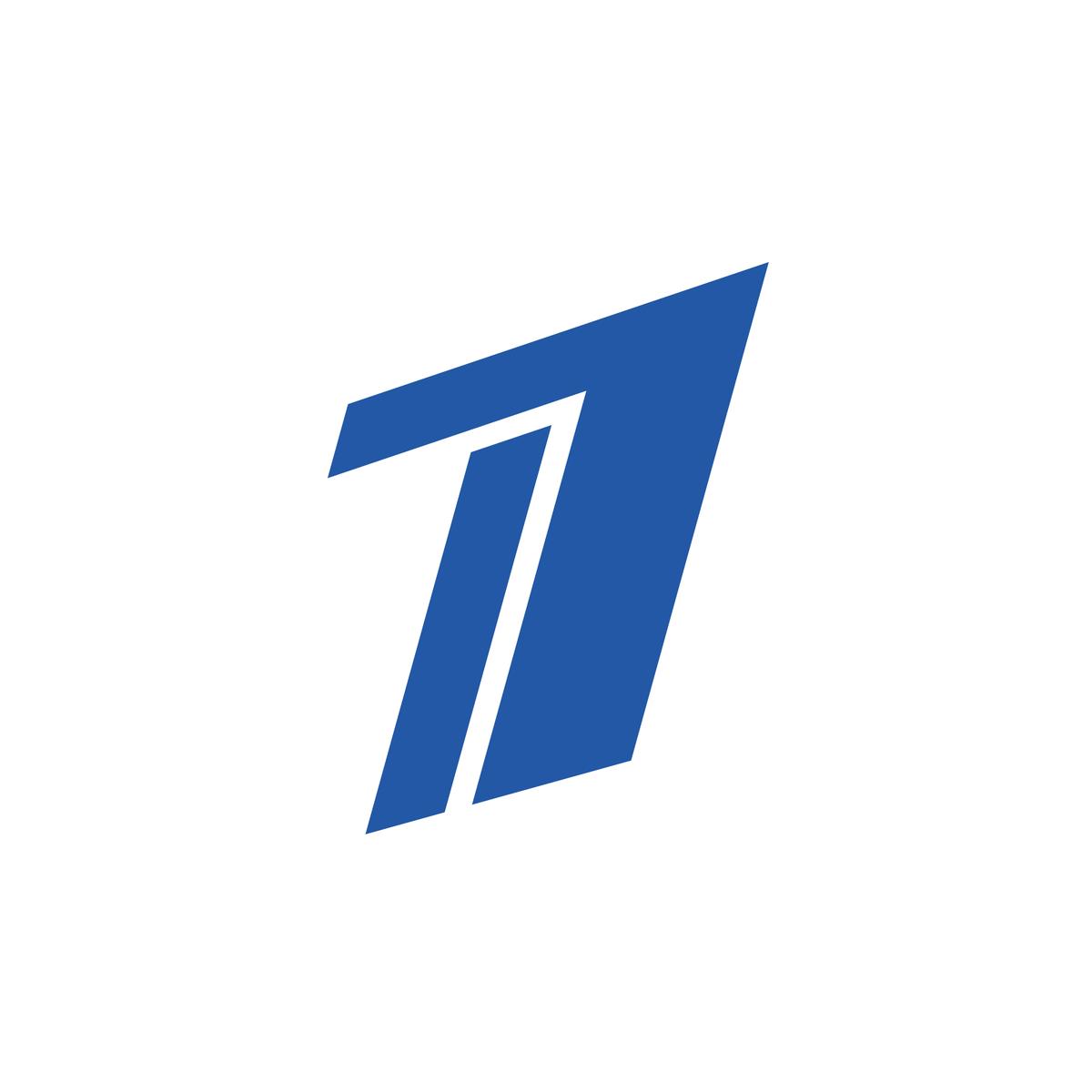 1 Tv Logo Russia Logo Number Single Letter Logo 1 Logo