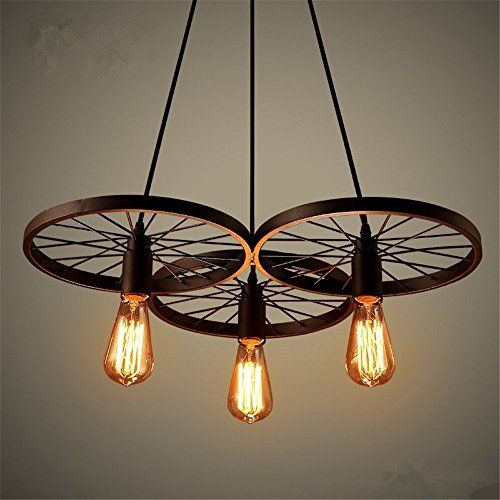 Retro Industry Design Pendelleuchte im Loft-Style, Esszimmer