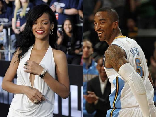 Rihanna Dating NBA Star J.R. Smith