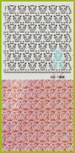 150 Puntos Fantasía En Crochet Con Gráficos Patrones Gratis Todo Patrones Crochet Gratis Paso A Paso Patrones Punto Ganchillo Patrones Puntadas De Ganchillo