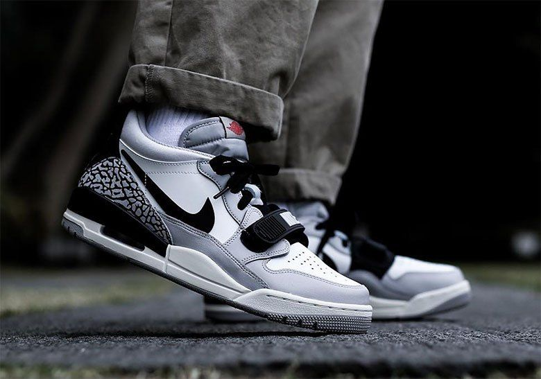 Jordan Legacy 312 Low White Fire Red Release Info Sneakernews Com Jordans Sneaker Head Air Jordans