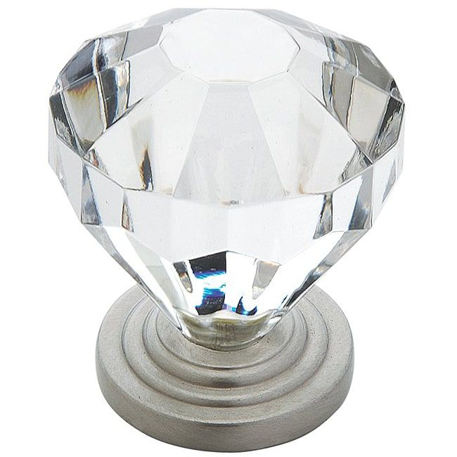 Amerock 1.375 Inch Crystal Look Cabinet Knob (Pack Of 5)