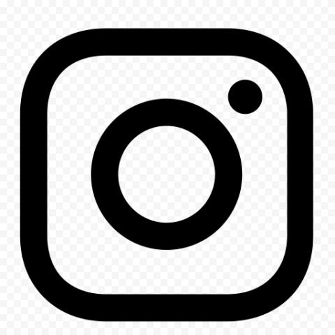 Black And White Outline Instagram App Logo Icon Logo Icons App Logo Black And White