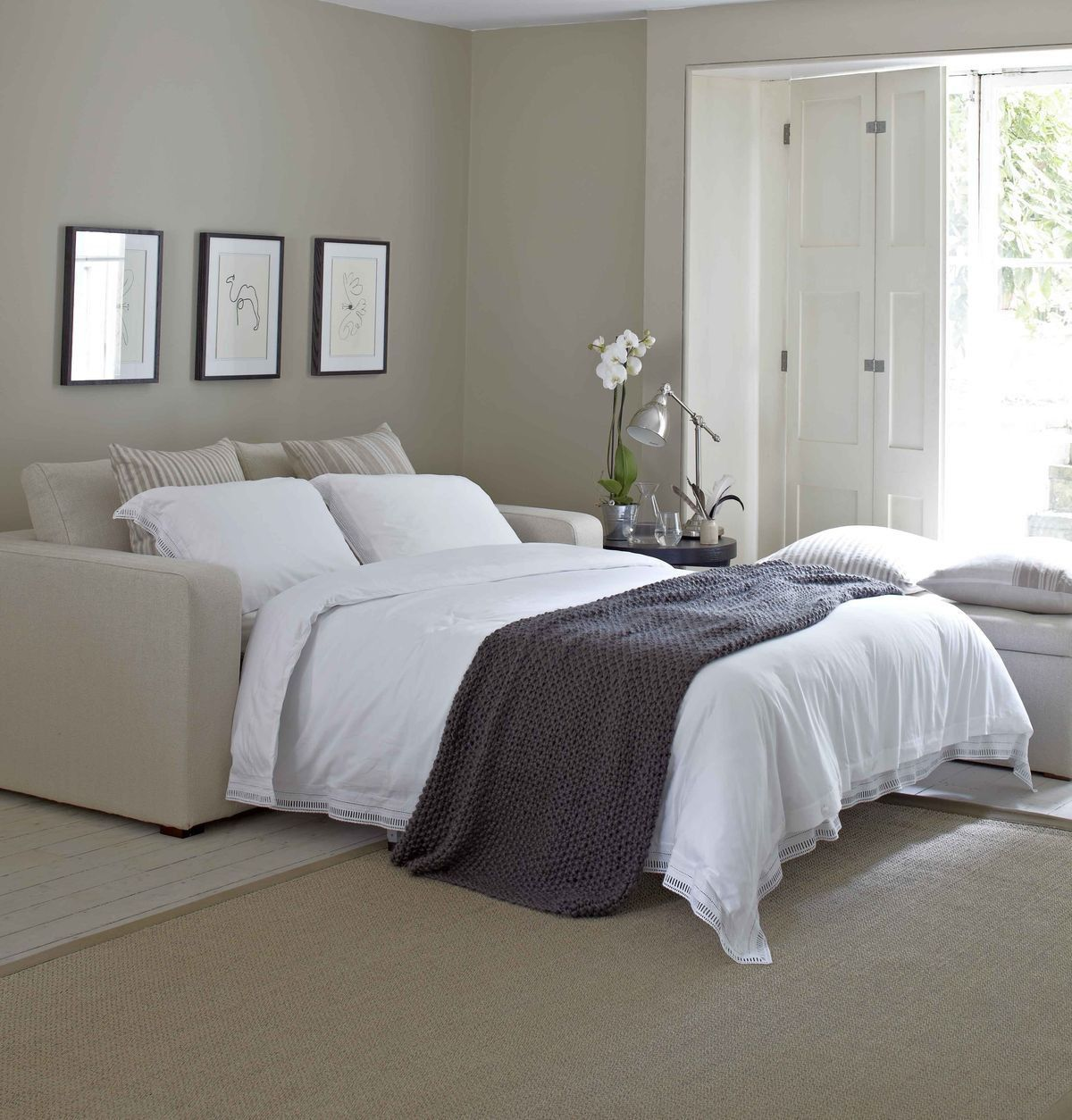 Pin By Khyrah Chavon On Dormitorio Sofa Bed Guest Room Guest Bedroom Bedroom Sofa
