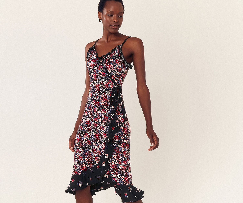 Patch Print Midi Dress Midi Dress Summer Midi Dress With Sleeves Printed Midi Dress [ 1250 x 1500 Pixel ]