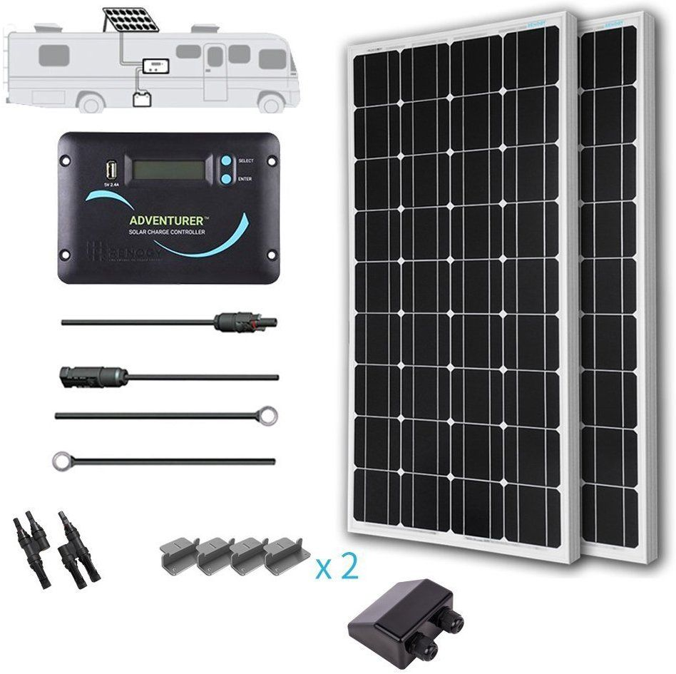 Amazon com : Renogy 200 Watts 12 Volts Monocrystalline Solar