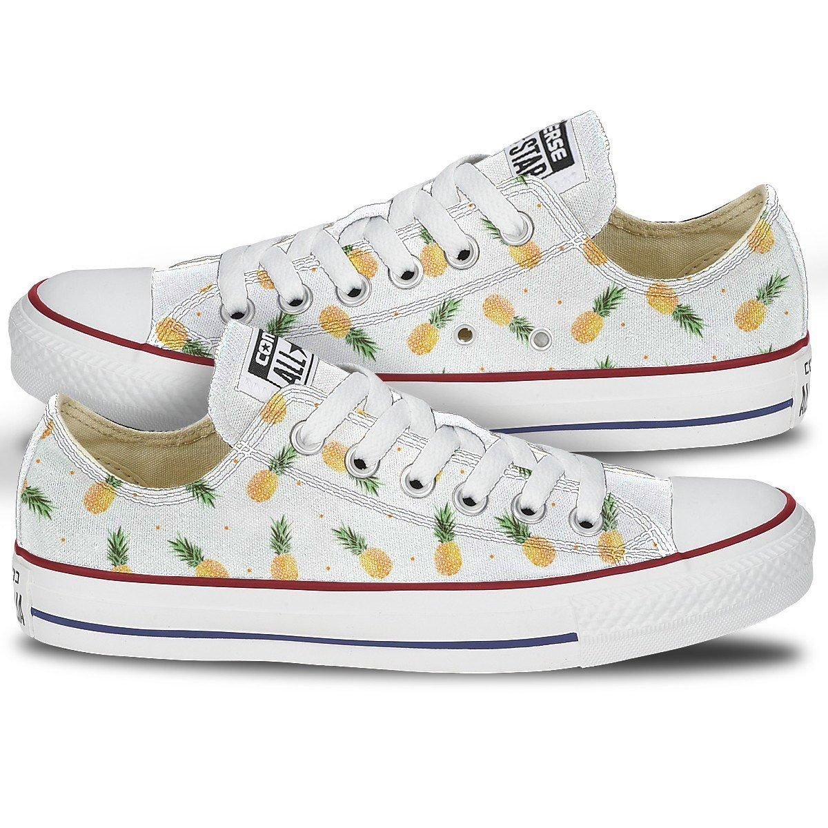 Pineapple Print Shoes Converse  042064719216