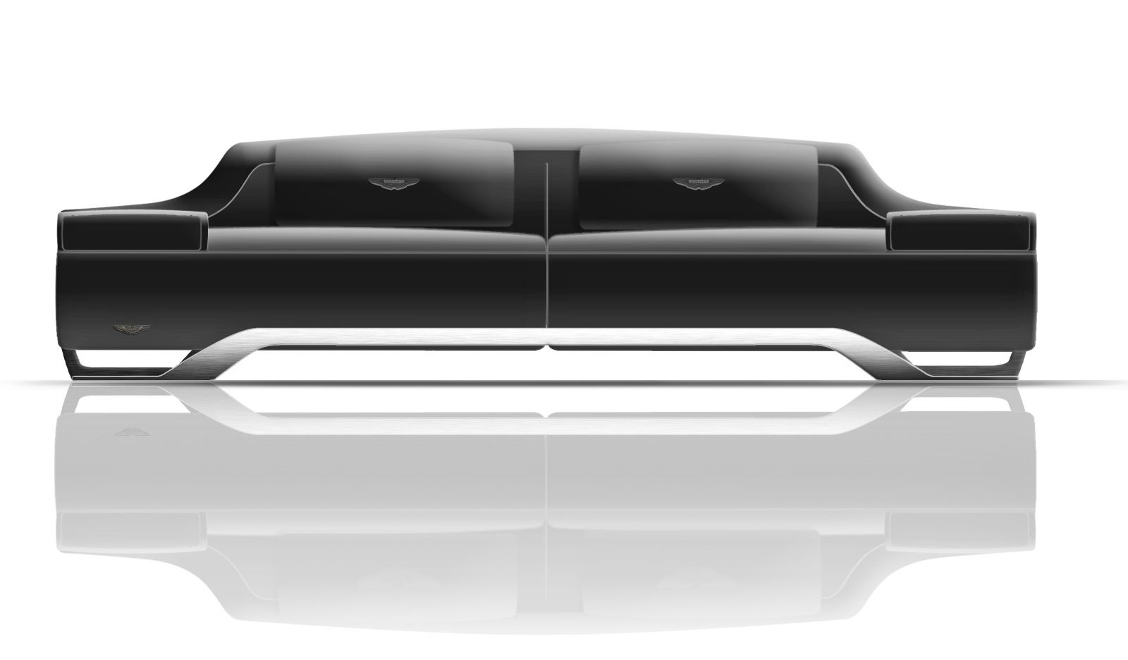 Aston Martin-inspired sofa