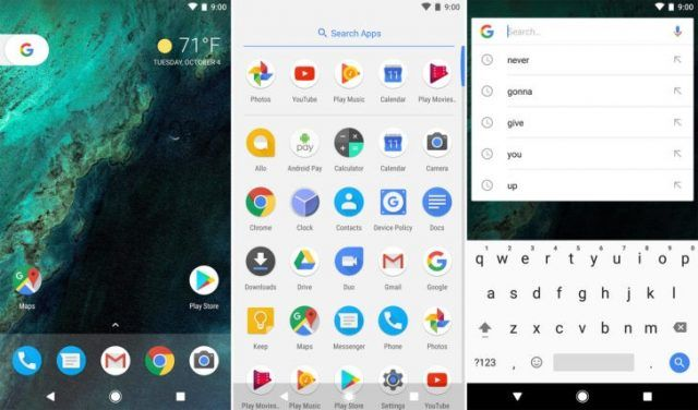Google unificará Google Now Launcher y Google Pixel Launcher