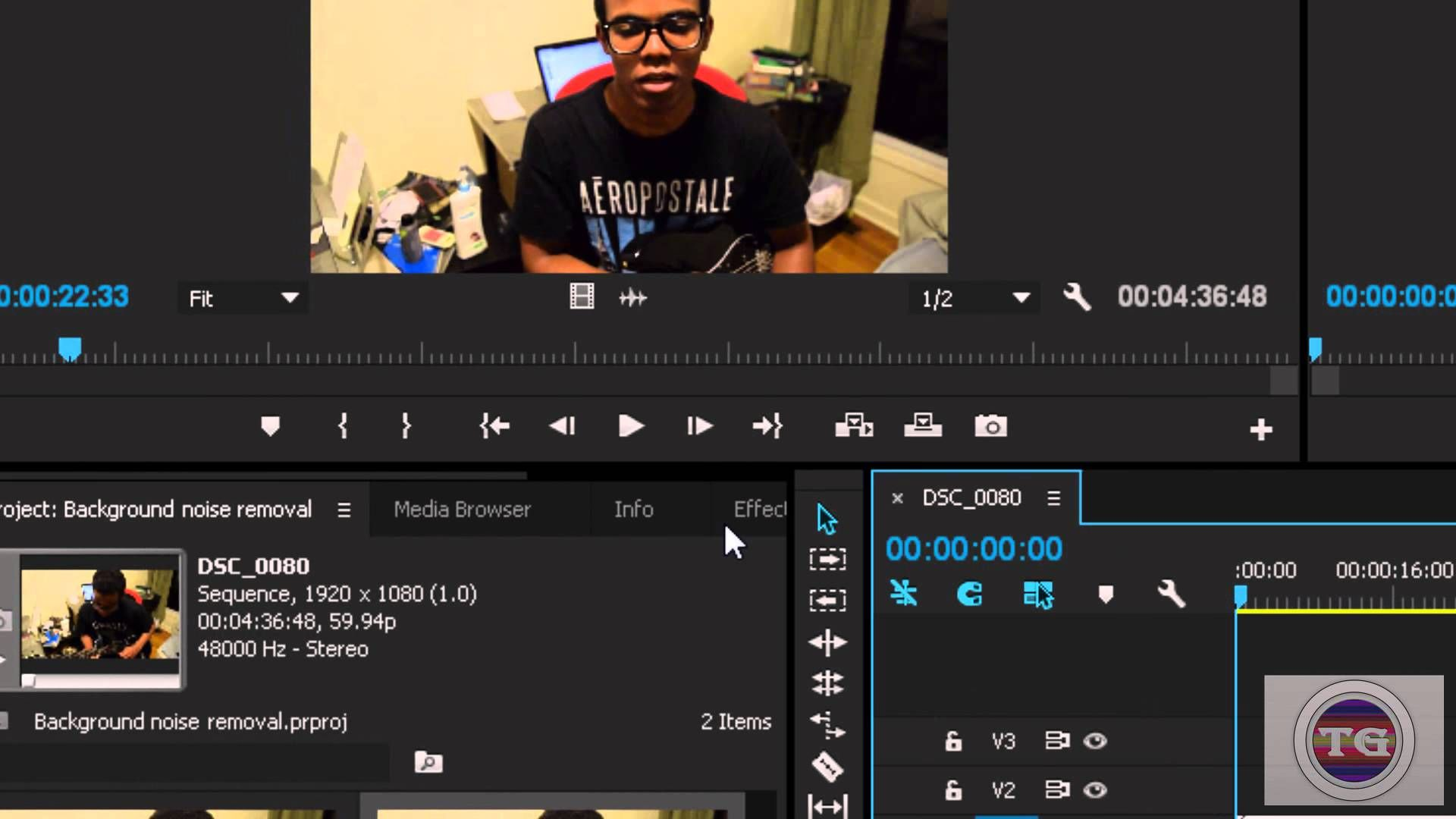 How To Remove Background Noise In Adobe Premiere CC