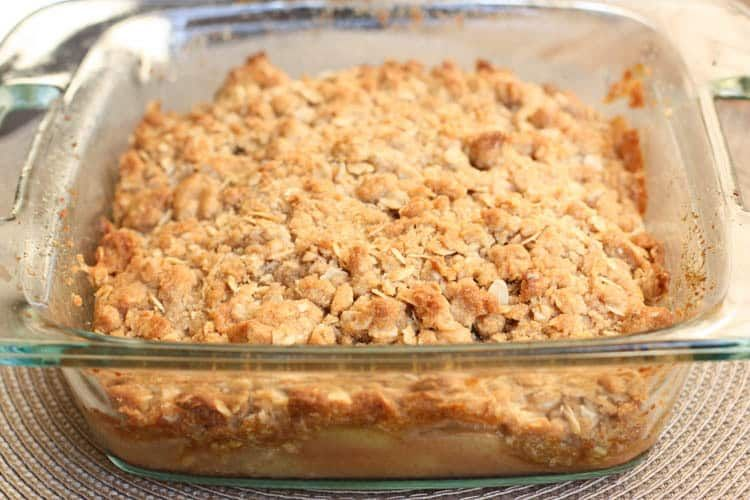 Apple Crisp #applecrisp