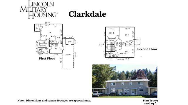 Floor Plan Cd9 E4 Floor Plans Military Housing Lincoln Military Housing