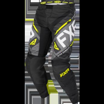 Black Hi Vis Motocross Pants Bike Clothes Motorcycle Suit
