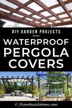 Photo of DIY Pergola Cover Ideas: 7 maneras de proteger su patio del sol y la lluvia – Gardening @ From House To Home